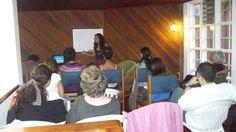 Conferencia de Elsa Noemi Am en Instituto Viento Solar. Costa Rica en el año 2010