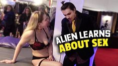 Alien Learns About Sex (Undercover Human) An alien goes undercover at a sex expo to learn how humans have sex. In the latest Undercover Human the alien goes undercover at an event called The Everything To Do With Sex Show (which is much like Exxxotica or AVN Expo). Here the alien is educated about human procreation learns how to have sex and even receives some sex tips. This is a satirical documentary that looks at sex from an educational context so YouTube please be sensible if reviewing…