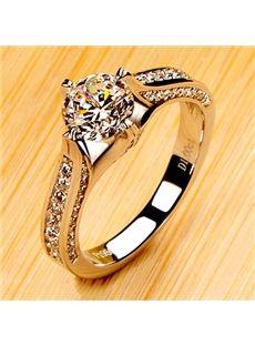 #Simulation #Diamond Jewelry Ring