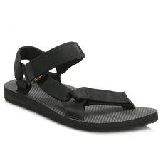 Teva Mens Black Original Universal Urban Sandals