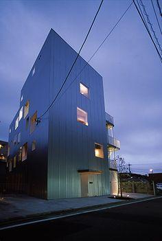 綾瀬の集合住宅 | 駒田建築設計事務所 - KOMADA ARCHITECTS OFFICE