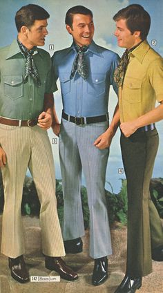 Sears was always at the forefront of men's fine fashion.