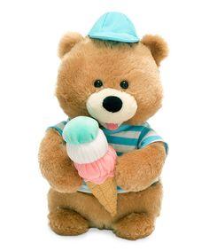 Look at this #zulilyfind! Scoops Bear Plush #zulilyfinds
