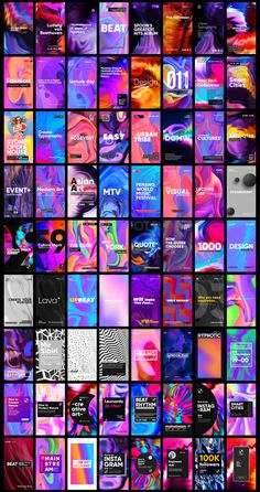 It's focused on communicative design in one style: bright color combinations, simple shapes, clean typography and compositions fit for any resolution and frame orientation to provide a better user experience at any modern device. Instagram Gradient, Identity Card Design, Best Instagram Stories, Instagram Story Template, Simple Shapes, Madness, Typography, Bright, Templates