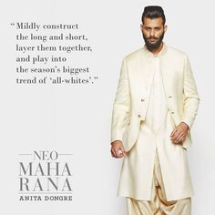 #StyleTip of the day. #AnitaDongre #Menswear #NeoMaharana