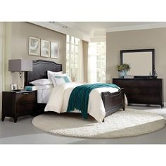 6PC:3480PALISADE50 Palisades Cola Brown 6 Piece Queen Bedroom Set