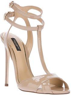 Love this: Double Ankle Strap Sandal Fab Shoes, Pretty Shoes, Crazy Shoes, Beautiful Shoes, Me Too Shoes, Shoes Heels, Stilettos, Pumps, Dolce E Gabbana