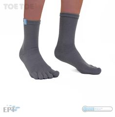 They are probably the most comfortable socks you have ever worn. Toe Socks, Ankle, Running, Grey, Sports, Fashion, Gray, Hs Sports, Moda