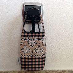 Bolsa Soporte Cargador para Teléfono Movil de rocadisseny en Etsy
