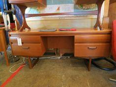 G-Plan Vanity or Desk from Shopclass LA #gplan #desk #vanity