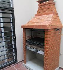 bbq ladrillo - Google Search … Outdoor Cooking Area, Pizza Oven Outdoor, Kitchen Grill, Backyard Kitchen, Asado Grill, Patio Design, House Design, Brick, Bbq