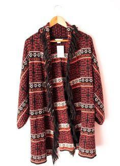 Kup mój przedmiot na #vintedpl http://www.vinted.pl/damska-odziez/peleryny-narzutki/12304212-sweter-kardigan-narzutka-ponczo-hm-aztec-nowe-ml-oversize