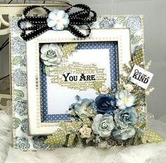 Wooden Creative Frame PK 6 pieces - : Anna Marie Designs, The home of Cardcraft Hobbies And Crafts, Crafts To Make, Flower Cards, Paper Flowers, Love Frames, Pretty Cards, Design Crafts, Altered Art, Wedding Cards