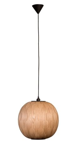 A simple and stylish natural pendant. These wooden pendants come in two shapes, round and oval. They spread a brilliant warm light and combine Round Pendant, Pendant Lamp, Bond, Pendants, Shades, Ceiling Lights, Lighting, Model, Vintage