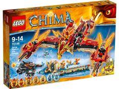 LEGO Legends of Chima - El templo del fuego del Fénix Volador, juego de construcción (70146): Amazon.es: Juguetes y juegos