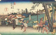 Itabashi on the Kisokaido (c. 1840)