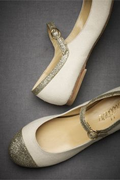 mary janes with sparkle!