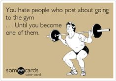 True story! I used to think they were annoying :) my name is raquel... And I'm addicted to the GYM :)))))
