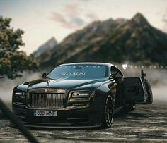 Rolls Royce Wraith by Rain Prisk on ArtStation. Rolls Royce Wraith, Rolls Royce Suv, Rolls Royce Motor Cars, Super Fast Cars, Koenigsegg, Sexy Cars, Amazing Cars, Car Car, Sport Cars