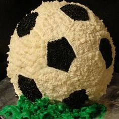 Soccer Ball Cake Recipe -   Watch the video!!! 2 recipes for one pictured?