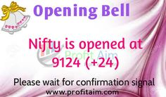 Market Opening Bell Update by Profitaim Research