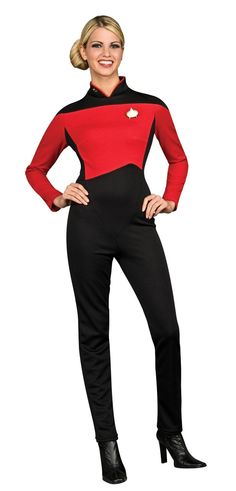 Rubies Costume Secret Wishes Star Trek the Next Generation Woman's Deluxe Blue Jumpsuit, Adult XS: Amazon.ca: Clothing & Accessories