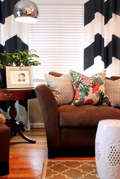 Brown Leather Sofa Design, Pictures, Remodel, Decor and Ideas