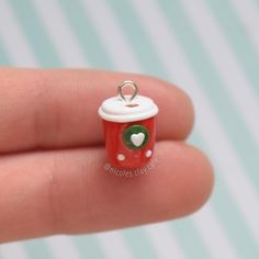#kawaii #charms #polymer #clay #cup