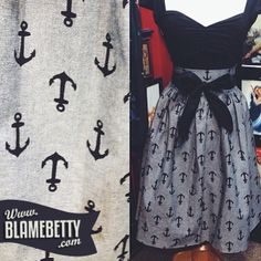 A fan favourite, and we sure know why! This skirt makes our heart skip a beat <3 #blamebetty #pinupstyle #retrostyle