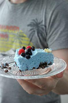 Sininen superfood - spirulinakakku