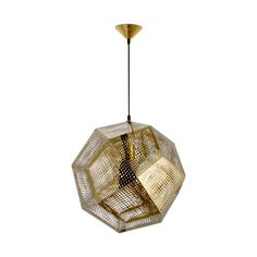 This Honeycomb Pendant Light featured on Dot&Bo is gorgeous, modern and unique.  I'm going to suggest this to a client for their front entry!