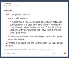 Wow! I hope this works if you ever need to try it! I hope things get better soon! I promise life will eventually get better