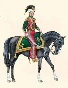 Литовские татары.Офицер 18-19вв.