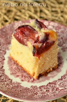 Łatwe ciasto ze śliwkami - niebo na talerzu Polish Desserts, Polish Recipes, Baking Recipes, Cookie Recipes, Dessert Recipes, Breakfast Menu, Food Cakes, Coffee Cake, Chocolates