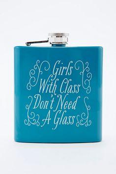 Girls Class Hip Flask