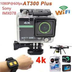 (82.88$) Watch now - Sports Camera 2.0ultra 4k 10fps 1080p Full HD Camera Extreme AT300 Plus Sport DV Action Camera 30M Waterproof 2.4G RF remote