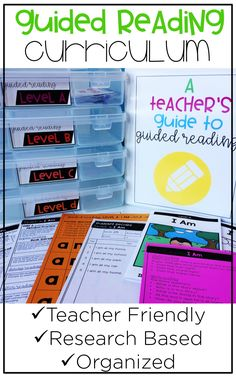 Guided reading is the heartbeat of the balanced literacy model. This curriculum helps teachers get started by providing all of the needed lesson materials, including books and scripted lesson plans. Teachers will be able to implement this easily in their classrooms as they get started with guided reading!