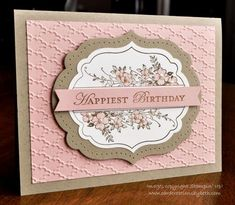 Apothecary Art Birthday by mcalexab - Cards and Paper Crafts at Splitcoaststampers