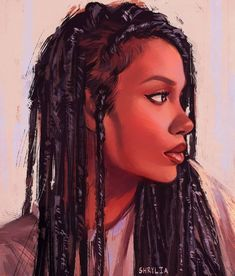 — shrylia: Yet another photo study (might be the… Black Women Art! — shrylia: Yet another photo study (might be the…,a r t & a e s t h e t. Black Art Painting, Black Artwork, Black Love Art, Black Girl Art, African American Art, African Art, Natural Hair Art, Natural Hair Styles, Estilo Hip Hop