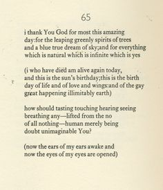 ee cummings poems - Google zoeken