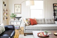living room // Master the 5-Minute Refresh: 5 Free Things to Do to Make Any Room Look Nicer
