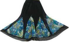 Boho Skirt Bohemian Black Blue Georgette Gypsy Skirts for Womens Mogul Interior,http://www.amazon.com/dp/B00EXKUN0A/ref=cm_sw_r_pi_dp_wq6Usb0XWDECZV5Y