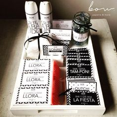 Kit de Baño para eventos - set de emergencias para toilette damas! by Bow.