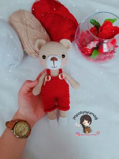 Amigurumi - Dodo Making with Teddy Bear Dody - Knitting Models - Amigurumi oyuncak bebek - Lol dolls Crochet Bear, Crochet Animals, Crochet Dolls, Free Crochet, Amigurumi Toys, Amigurumi Patterns, Baby Toys, Lol Dolls, Baby Knitting Patterns