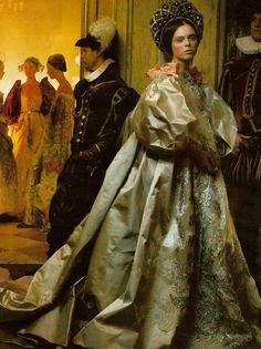 Coco Rocha wears Christian Lacroix by Annie Leibovitz for Vogue
