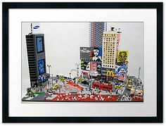 Sean Kenney - Art with LEGO bricks : Posters, cards, and prints