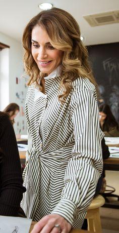 Queen Rania visits the Design Institute Amman Amman, Jordan / March 13th, 2017