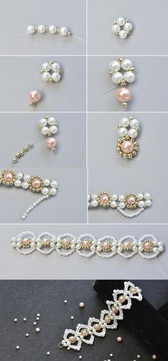 Wanna this elegant pearl bracelet?The details will be released by LC.Pandahall.com soon.