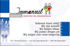 Dit is de site van onze school!! De Immanuelschool in Amsterdam-west!