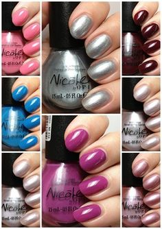 Nicole by OPI CVS Exclusives ♥ click thru for swatches and review!